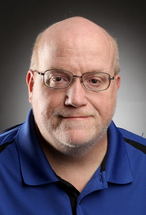 Sports reporter Ken McMillan. ERIK GLIEDMAN/Times Herald-Record