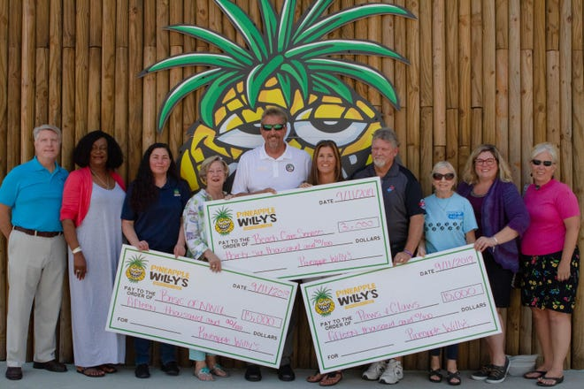 "In 2019, Pineapple Willy's restaurant raised $66,000 for three area charities with its ""Pay It Forward"" campaign. The 2020 campaign will be Aug. 24-28."