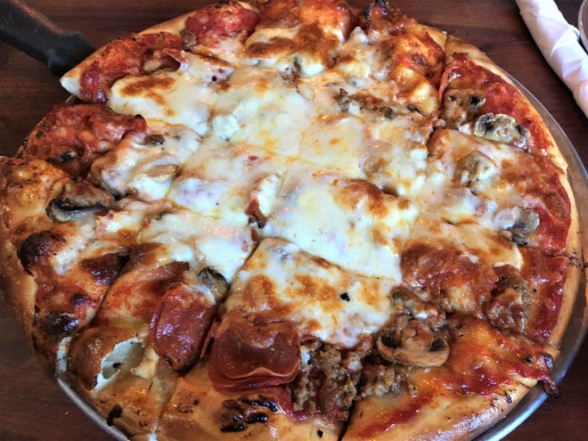 McGonigle's Pub is known for Irish food and pub favorites, but they also make a great pizza.