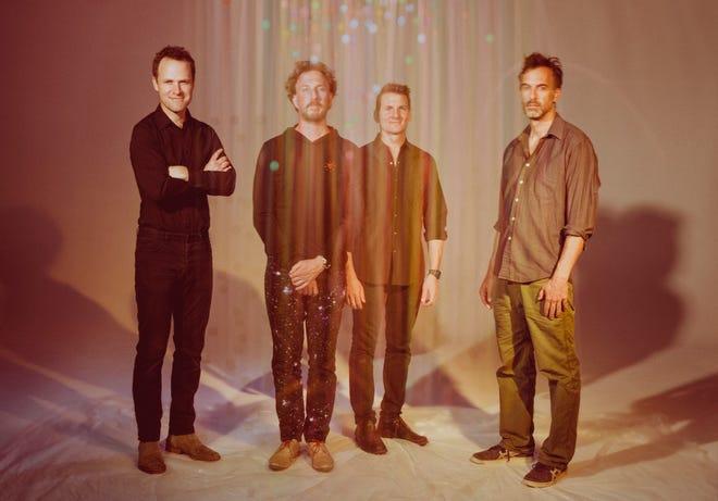 From left to right, Luke Reynolds, Ryan Miller, Adam Gardner and Brian Rosenworcel of Guster.