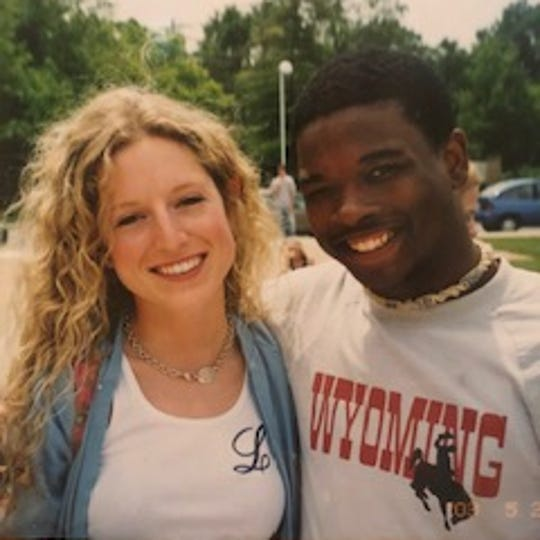 Lindsey Morton, nee Lewis, spotted her high school friend Rick Hudgies talking with the driver of a black sports car on May 25, 2016. The next morning, she learned Hudgies had been killed within the hour. The slaying remains unsolved.