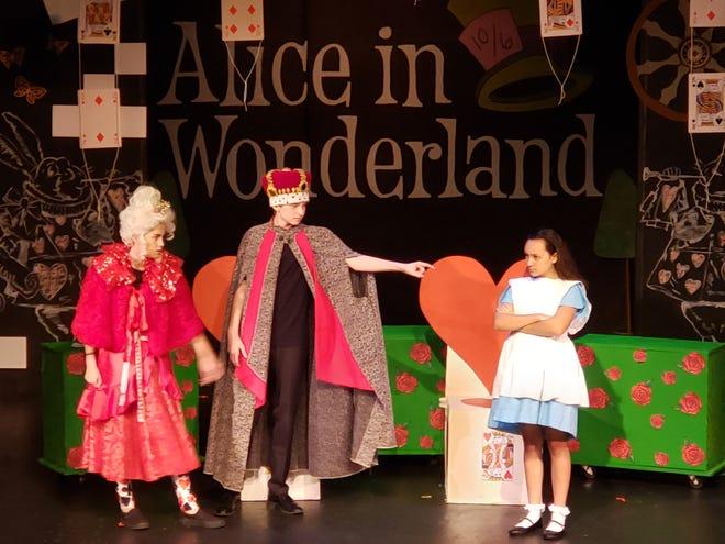 Roxy Regional School of the Arts students performing in 2019's production of Disney's Alice in Wonderland, Jr
