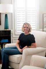 Sarah O'Dell, owner of Dwell Chic Interiors