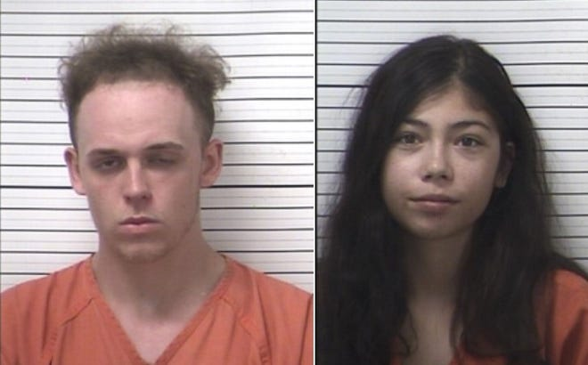 Bond has been set at $500,000 each for two people alleged to have been involved in a shooting on Wednesday, Aug. 5 on South Prospect Street in Marion. Samuel B. Music, 22, Marion, left, and Madison G. Awbrey, 18, Marion, are both incarcerated at the Multi-County Correctional Center in Marion. The shooting victim suffered a wound to one of his hands.