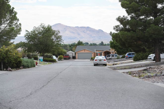 Amapola Street neighborhood is shown in Las Cruces on Tuesday, August 11, 2020.