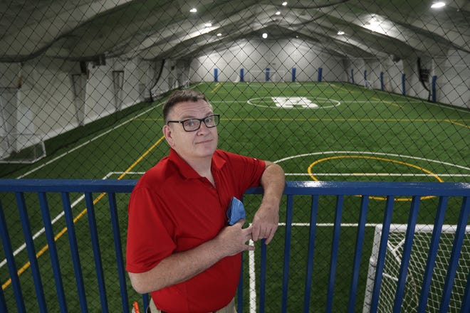 Greg Genrich hopes to move forward with a youth program in his Irondequoit Sports Center.