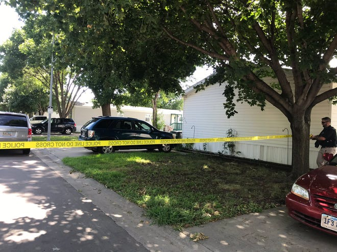 Police responded to a report of a shooting the afternoon of Tuesday, Aug. 11, in the 500 block of N. Starlite Pl.