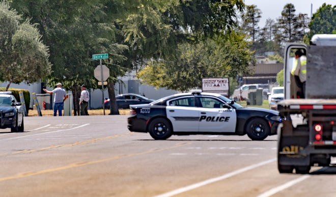 Someone called in a 'suspicious' device just after 1 p.m. in the area of Ferguson Avenue and Shirk Road, in northwest Visalia.