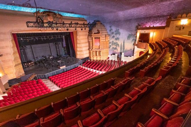 Visalia Fox Theatre on Monday, August 10, 2020.