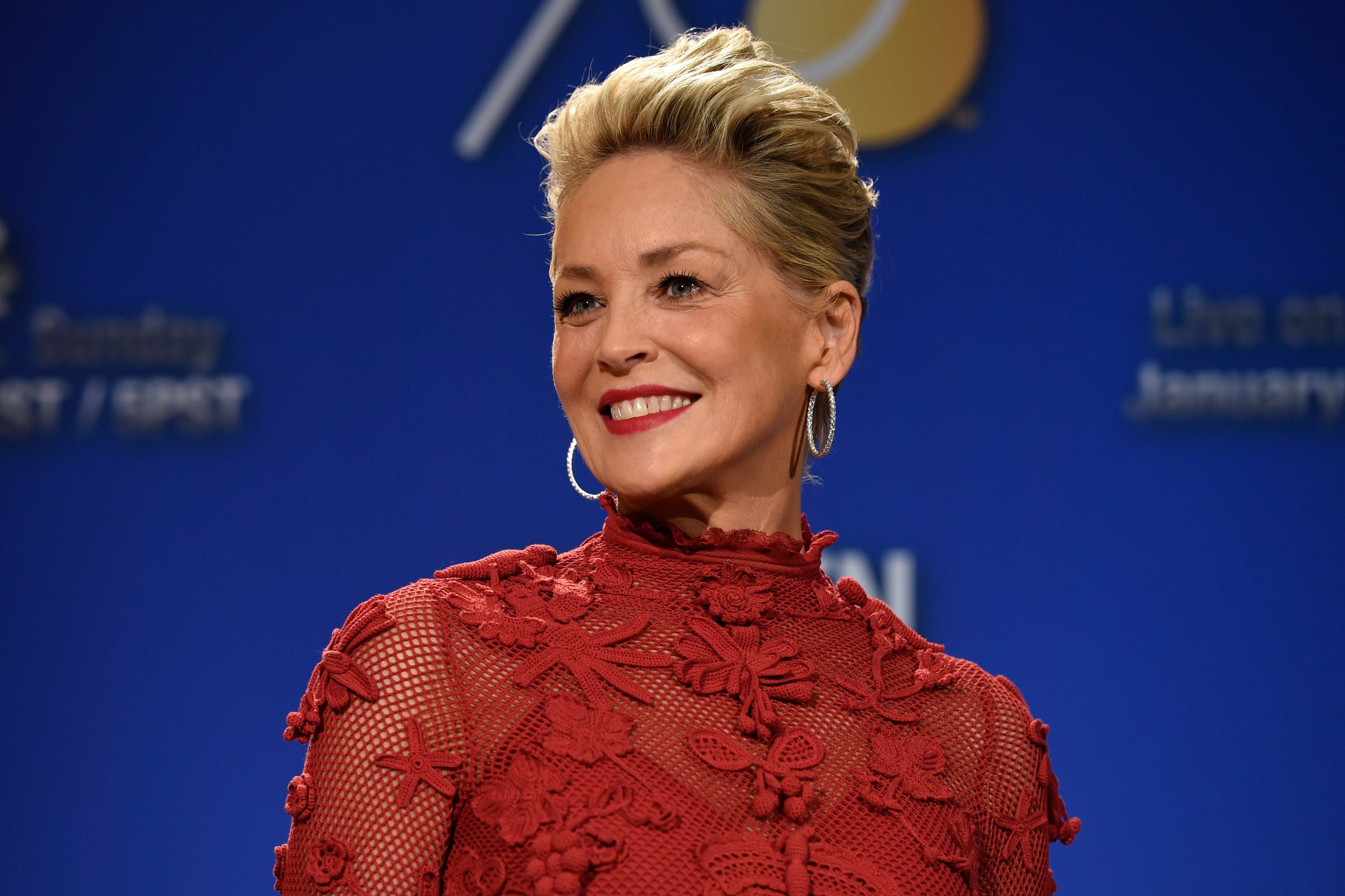 Sharon Stone reveals her sister is now COVID-19 negative