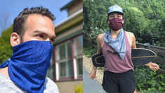 Gaiters aren't as effective at protecting against the coronavirus compared to cotton masks.