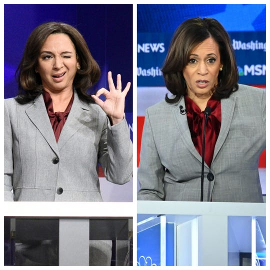"Sen. Kamala Harris will likely get the ""SNL"" treatment during the 2020 election. Will Maya Rudolph reprise her impression?"
