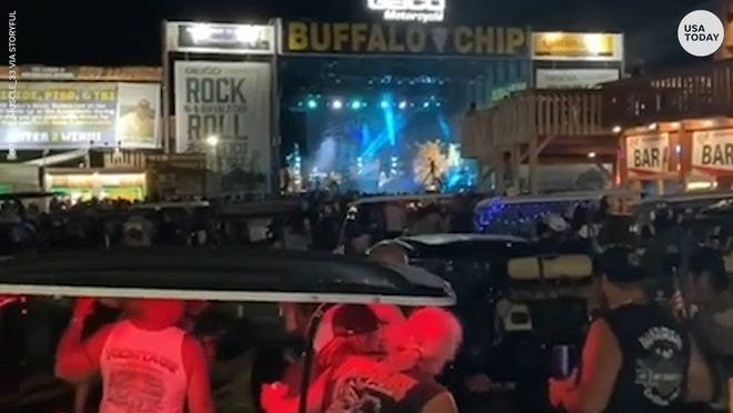 Smash Mouth is under fire after playing to a packed, unmasked crowd at the Sturgis Motorcycle Rally in South Dakota.