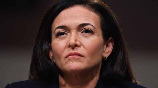 """We're going to keep working really hard at this, not for financial reasons or advertiser pressure, because it's the right thing to do,"" Facebook's chief operating officer Sheryl Sandberg said."