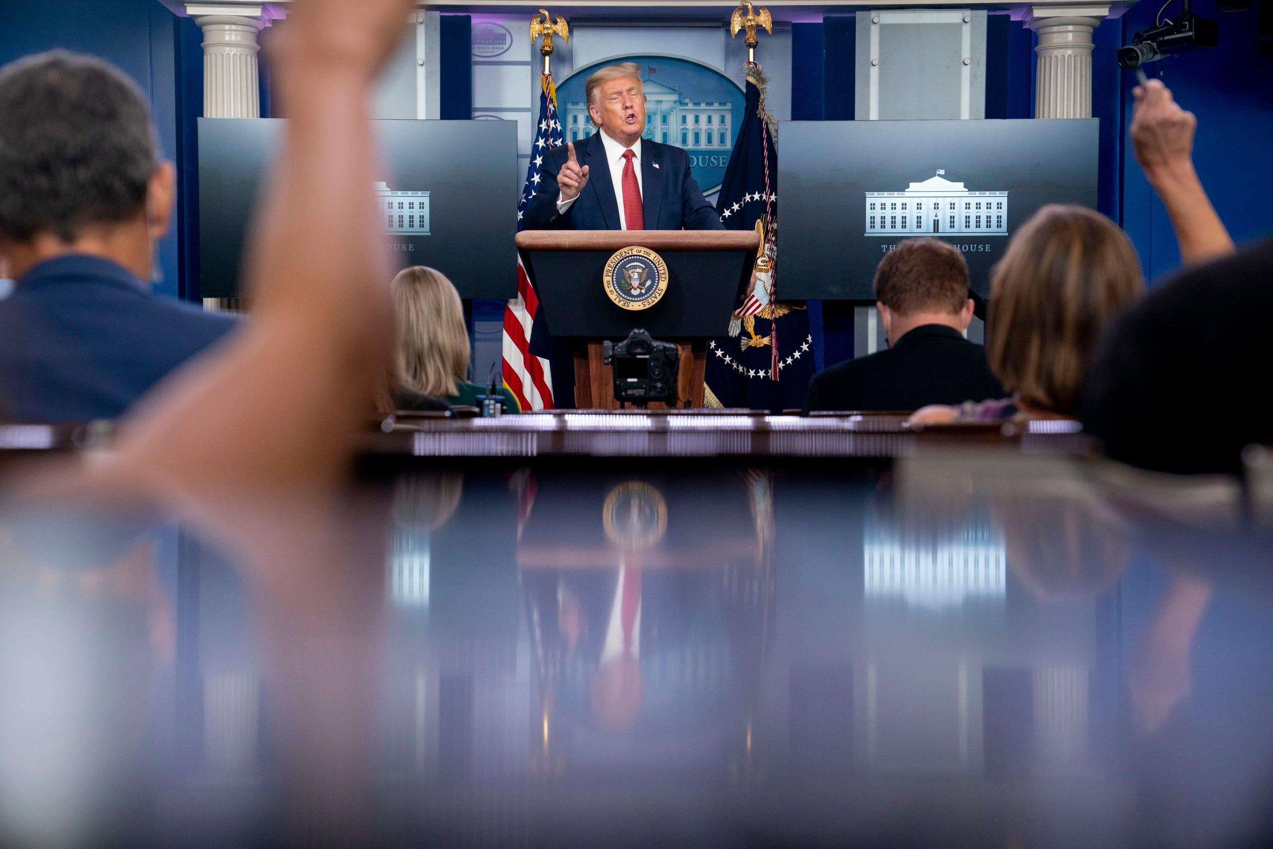 Critics slam Trump 'suburban housewife' tweet as racist, sexist 'dog scream' play for white voters thumbnail