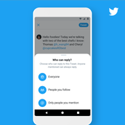 Twitter introduces new conversation settings