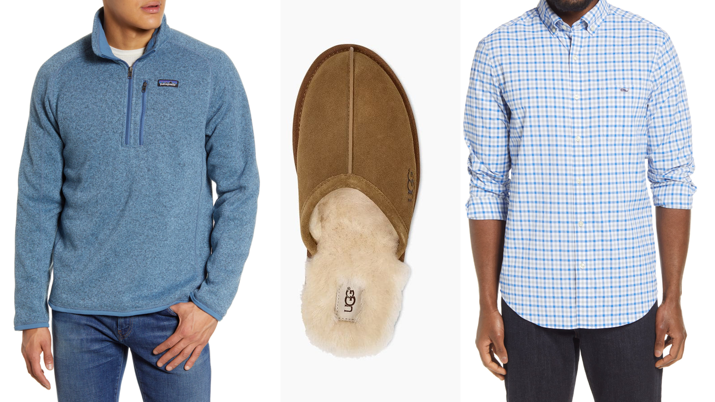 30 popular deals on men's clothing and shoes at the Nordstrom Anniversary Sale