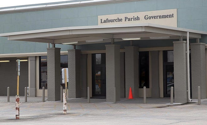 The Mathews Government Complex on La. 1.