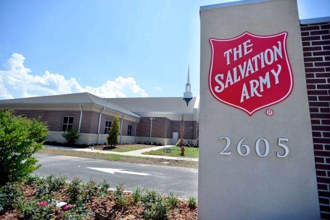 The outside of the new Salvation Army facility is seen on Friday, June 3, 2016 in Leesburg.  [Amber Riccinto/Daily Commercial]