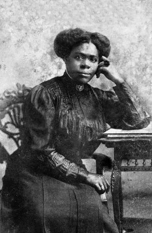 Mary McLeod Bethune around 1910. She was one of the first women to register to vote in Daytona Beach. [Archives of Florida}