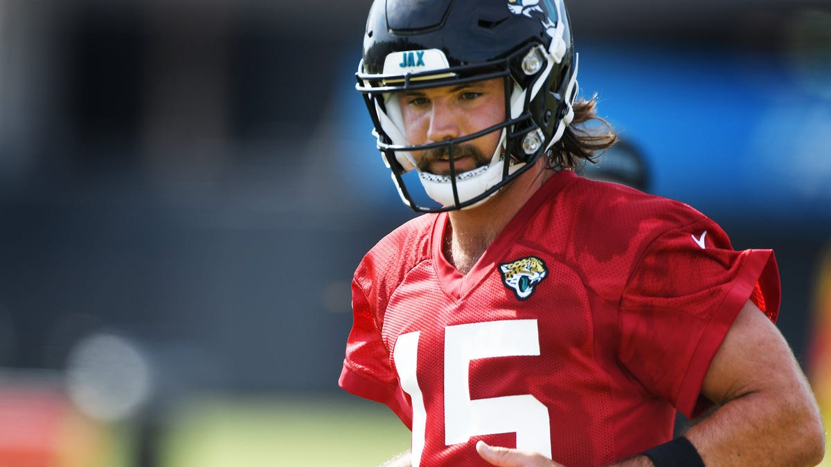 Gardner Minshew II finally gets a training camp in which he's the clear No. 1 quarterback