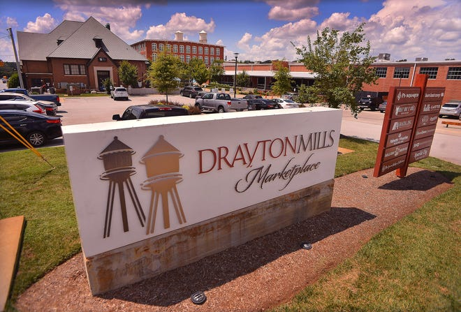 Drayton Mills Marketplace, in the Drayton community of Spartanburg, Wednesday, August 12, 2020.