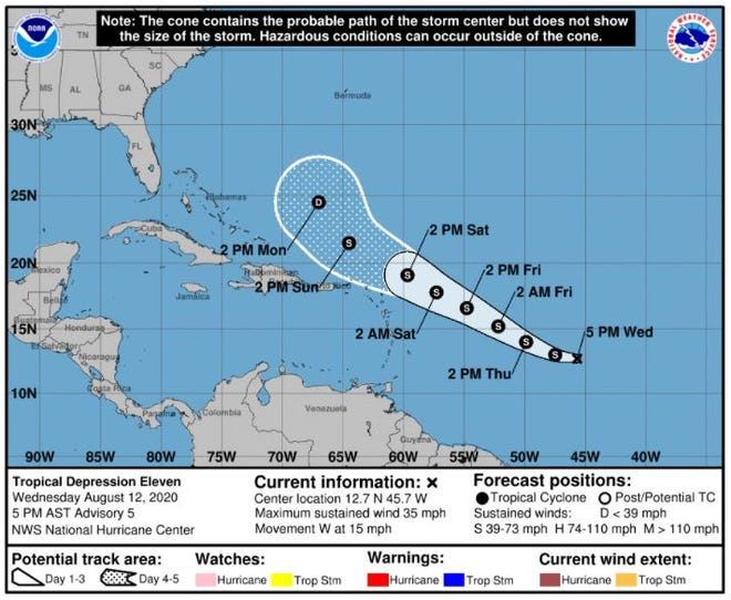 Tropical Depression 11