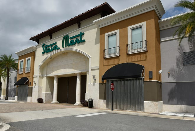 The Stein Mart store on Atlantic Boulevard in Jacksonville was closed on April 17. The company filed for bankruptcy on Wednesday.