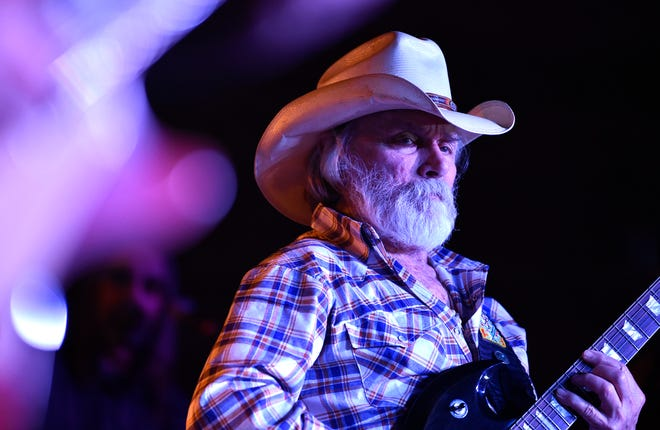 The Dickey Betts Band performed in front of a sold-out crowd May 15, 2018, at the White Buffalo Saloon near Betts' home in Sarasota County.