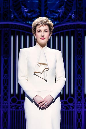 Jeanna de Waal as Princess Diana in 'Diana'
