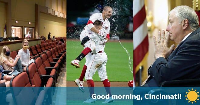 Promo image for Wednesday, August 12, 2020, roundup of Cincinnati news.