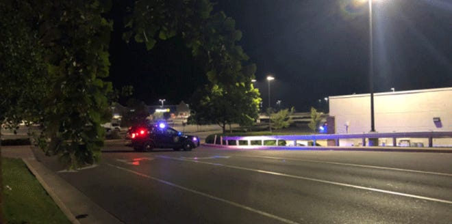 An investigation is underway in Colerain Townshipafter a man was found shot in a Walmart parking lot early Wednesday morning.