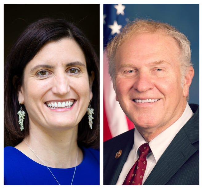 Democrat Kate Schroder faces Republican incumbent Steve Chabot in Ohio's 1st Congressional District.
