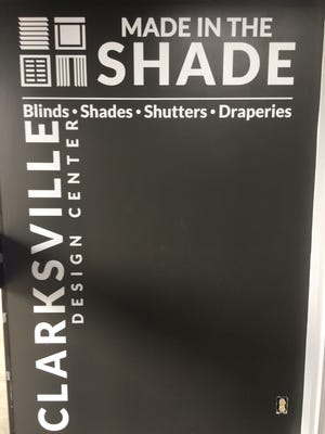 Part of David Shelton's expertise is in the updated logo and branding for Made in the Shade.