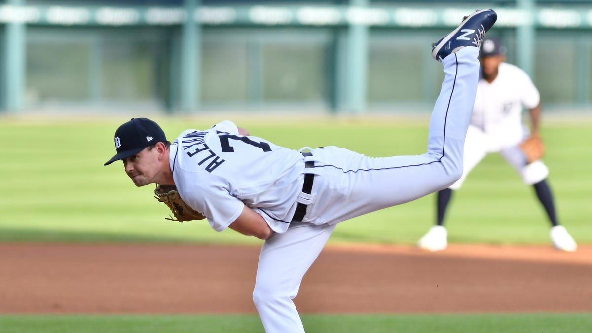 'I'm a strike-thrower': Tigers' Tyler Alexander making his mark with precision over power 2