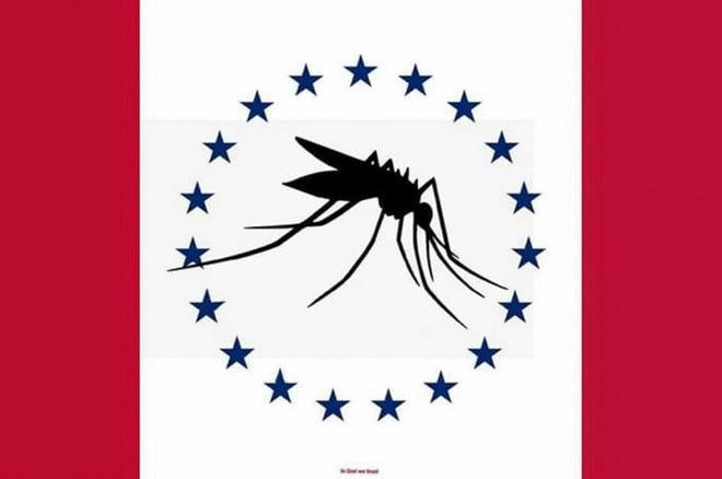 Proposed Mississippi mosquito flag.