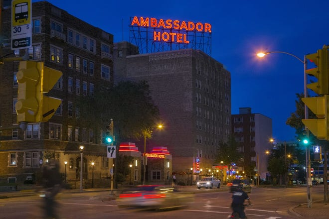 The Ambassador Hotel on Milwaukee's near west side is reopening Thursday.