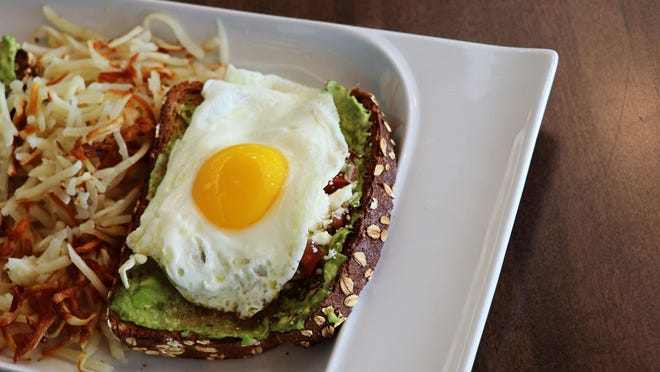 Avocado toast with an egg on top is on the menu at Golden Nest Pancakes & Cafe, newly opened at the Mayfair Collection, 11250 W. Burleigh St. in Wauwatosa. It's open daily for breakfast and lunch.