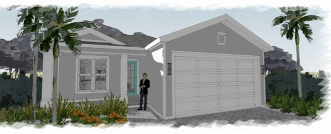 An artist's conception of a new home by FL Star to be built in South Naples.