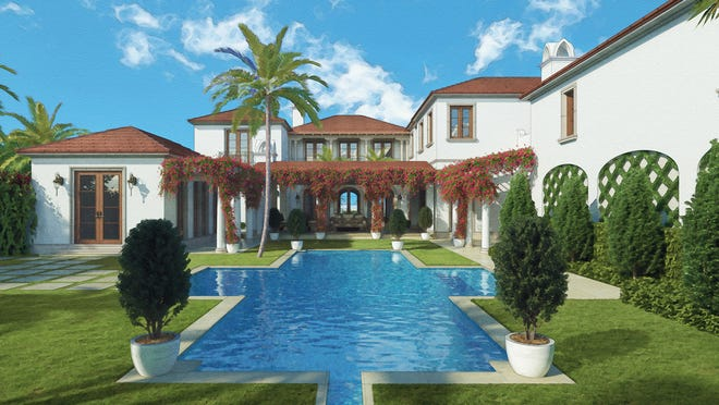 Stock Custom Homes, the luxury homebuilding division of Stock Development, is in the process of building an oceanfront estate in Palm Beach.
