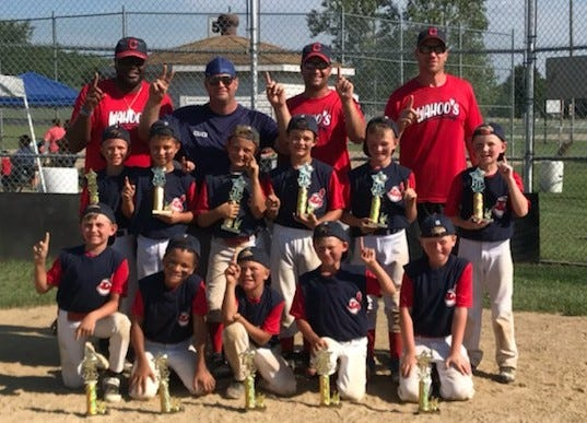 The Wahoo's won the Urbana Slamfest 8U All-Star Tournament.