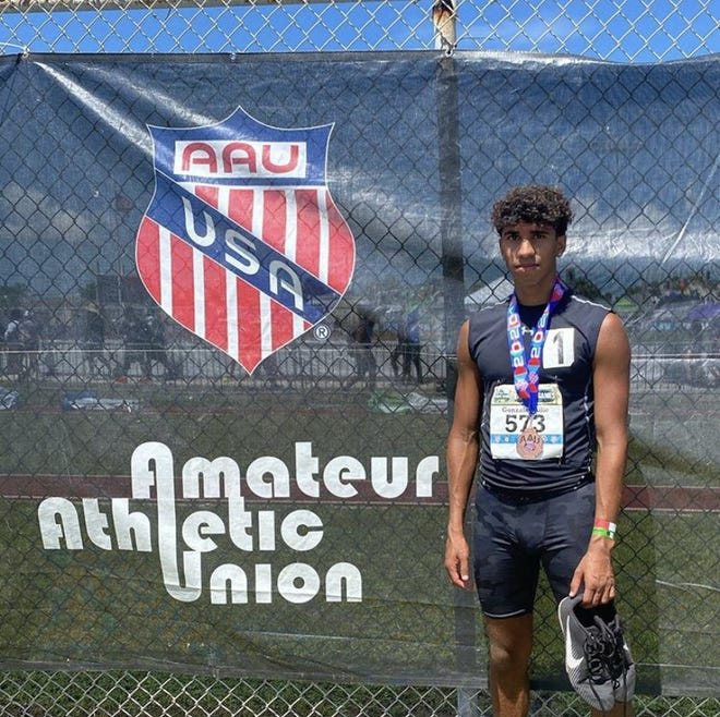 Annville-Cleona rising sophomore Jahlen Gonzalez-Allie recently earned All-America status track and field after he placed 7th in the 800-meter run at the AAU Junior Olympics in Florida.