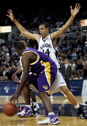 Center JaVale McGee played for two seasons at Nevada. He just completed his 13th season in the NBA.