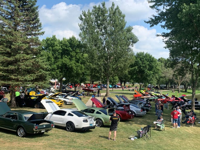 The Dell Rapids Blast from the Past car show was held in the city park on Sunday, August 9, 2020.