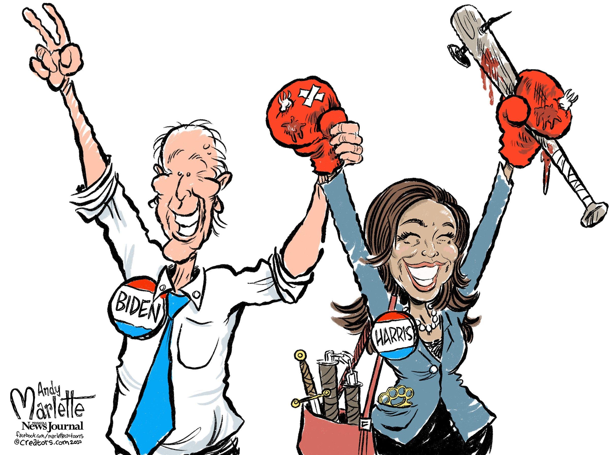 Will Sen Kamala Harris Play The Heavy For Joe Biden Bill Cotterell