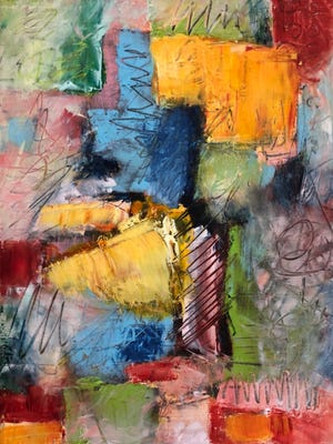 """""""This Moment"""" by Terrie Corbett is part of new show opening at the Artport Gallery this weekend."""