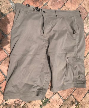 Here are some pants, shorts actually