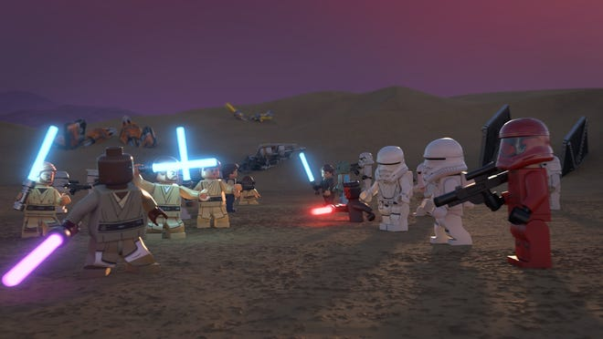 """Heroes and villains throughout """"Star Wars"""" history come together in the new Lego Disney+ special."""