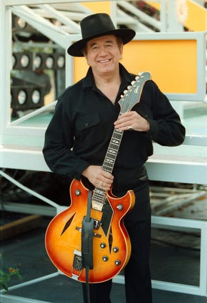 """Trini Lopez, a singer and guitarist who gained fame for his versions of """"Lemon Tree"""" and """"If I Had a Hammer"""" in the 1960s and took his talents to Hollywood, died Tuesday. He was 83."""