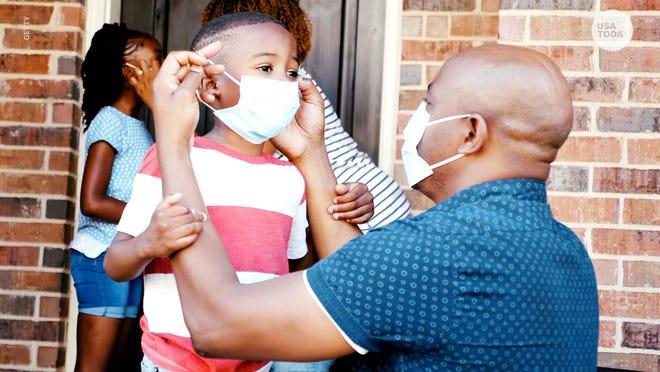 Más de 97,000 niños en EEUU han dado positivo por COVID-19.